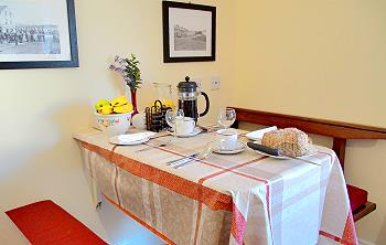La salle de petit déjeuner