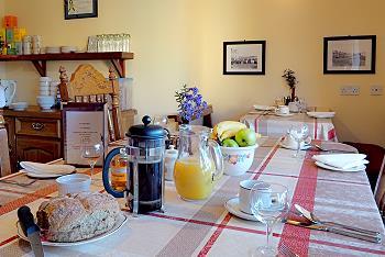 De ontbijtzaal